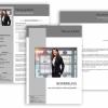 Professionelle Bewerbungsvorlage Download, Bewerbung schreiben Vorlage, Moderne Lebenslauf Vorlage mit Lebenslauf, Anschreiben, Deckblatt