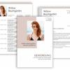 Bewerbungsvorlage Download, Bewerbung schreiben Vorlage, Moderne Lebenslauf Vorlage mit Lebenslauf, Anschreiben, Deckblatt