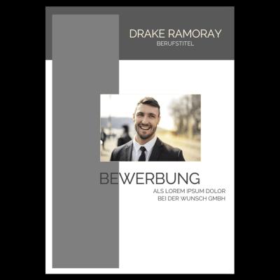 Bewerbung Deckblatt modern download