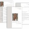 Professionelle Bewerbungsvorlage, Bewerbung schreiben Vorlage, Moderne Lebenslauf Vorlage mit Lebenslauf, Anschreiben, Deckblatt